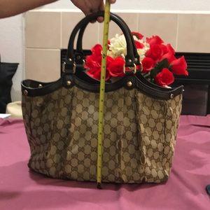 Vtg Gucci handbag large